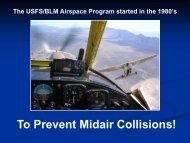 Stewart slides - Interagency Airspace Coordination