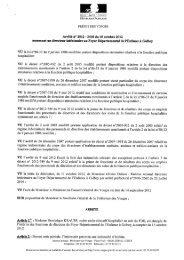 DIRECTION DÉPARTEMENTALE DE LA COHÉSION SOCIALE ET ...