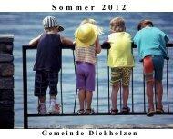 Sommer 2012 - Gemeinde Diekholzen
