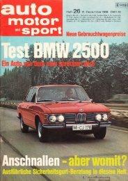 TEST automotorsport - classic BMW.de