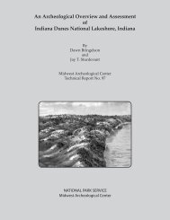An Archeological Overview and Assessment of Indiana Dunes ...