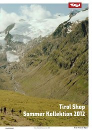 Tirol Shop Sommer Kollektion 2012