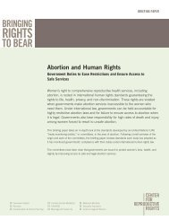 Abortion and Human Rights - CommonHealth