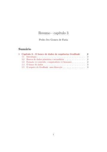 Resumo - capítulo 3 - Rede Linux IME-USP