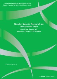 Gender Gaps in Research on Abortion in India - CommonHealth