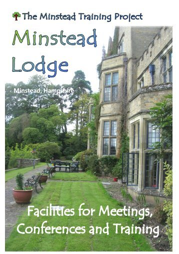 to download our conference brochure - Minstead Training Project