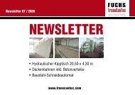 • Hydraulischer Kipptisch 20,50 x 4,30 m • Deckenbahnen inkl ...