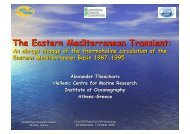 Variability of the thermohaline circulation of the Eastern ... - Medclivar