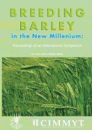 Breeding Barley in the New Millenium:Proceedings of an ...