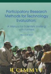 Participatory Research Methods for Technology Evaluation ... - cimmyt