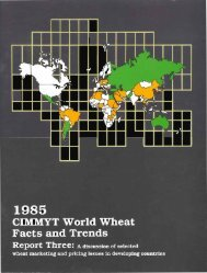 continued - Search CIMMYT repository