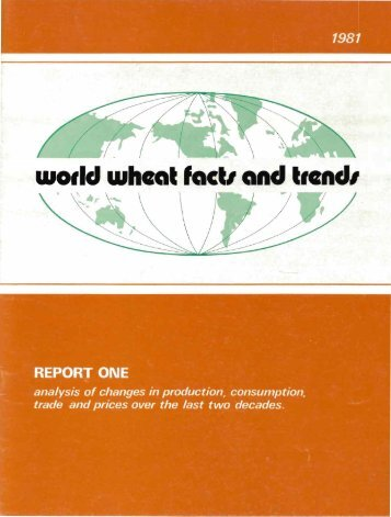 wodd wheat factI and tlendl - Search CIMMYT repository