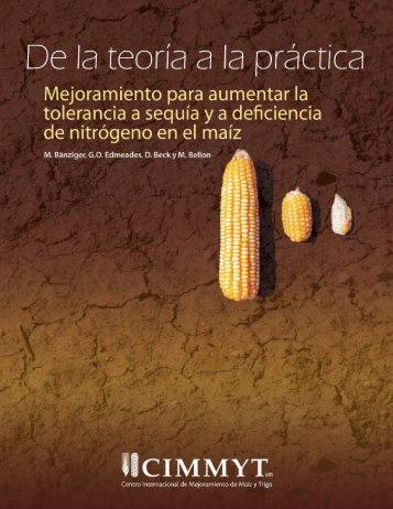 Mejoramiento para aumentar la tolerancia a sequía ya deficiencia ...