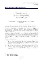 Rozhodnutí č. 2003/17/RM výkonného ředitele agentury ze dne 14 ...
