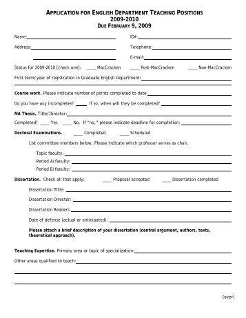 Child Life Department Practicum Application Child Life Practicum