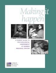 A Parent Guide to Psychological Assessment - Harbor Regional ...