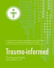 The Trauma Toolkit - What is Trauma?