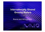 Internationally Shared Ground Waters - inweb