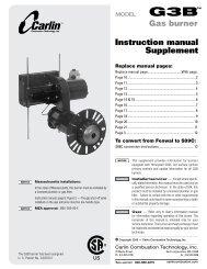 Instruction manual Supplement - Patriot Supply