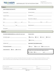 MICROBIOLOGY TEST REQUISITION FORM