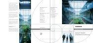 DESIGO™ INSIGHT Zeitgemäße Visualisierung
