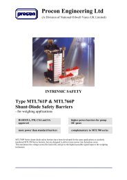 NEW MEASUREMENT TECHNOLOGY MTL7028 SHUNT-DIODE SAFETY BARRIER MTL 7028