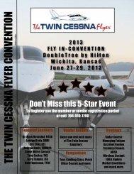 2013 Color Brochure - Twin Cessna Flyer