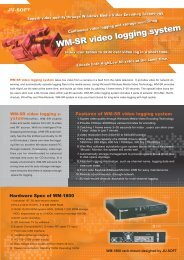 WM-SR video logging system