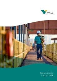 Sustainability Report 2009 - Vale.com
