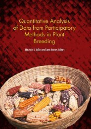 The Mother and Baby Trial Design - Search CIMMYT repository