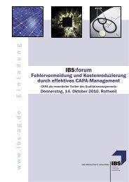 Veranstaltungsbroschüre. - Reusch Rechtsanwälte in Saarbrücken