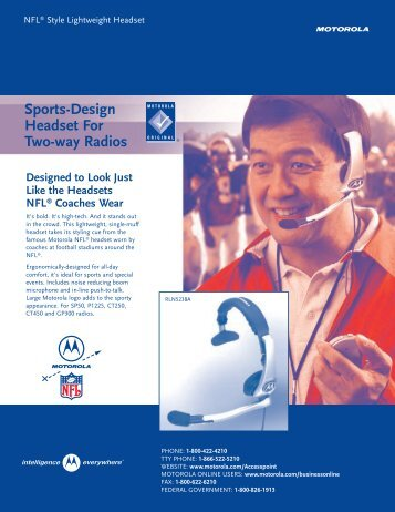 NFL Headset (Page 1)