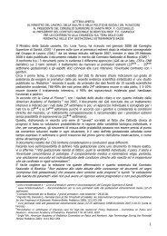 LETTERA APERTA - I.R.C. Italian Resuscitation Council
