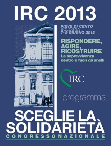 programma - I.R.C. Italian Resuscitation Council