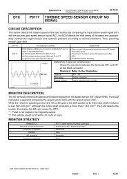 dtc p0502 vehicle speed sensor (vss) circuit low justanswer