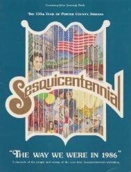 Porter County Sesquicentennial - Porter County, Indiana