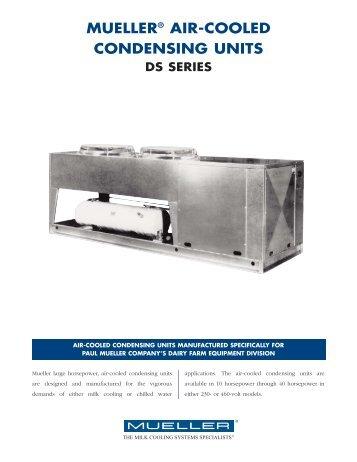 MC-273-2 AC Cond Units - Paul Mueller Company