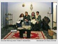 Die erste Wohnung meiner Mutter in Deutschland, rekonstruiert von ...