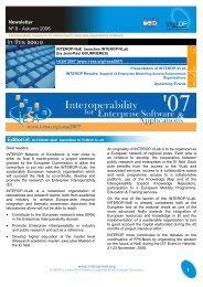 Newsletter Nº 8 - Autumn 2006 1 - Enea