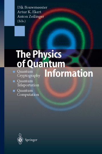 Untitled - Quantum Experiments and the Foundations of Physics
