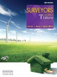 Vol.21 • No.4 • April 2012 - Hong Kong Institute of Surveyors