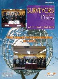 Step Towards Internationalization - Hong Kong Institute of Surveyors