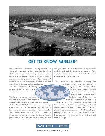 I-1731-1 Int'l Profile - Paul Mueller Company