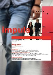 Magazin - Departement Wirtschaft, Gesundheit, Soziale Arbeit
