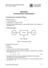 INFOTECH Fundamentals Communication/Transmission, Chapter 4