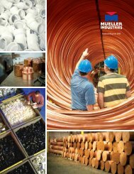 Annual Report 2011 - Mueller Industries