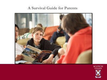 A Survival Guide for Parents