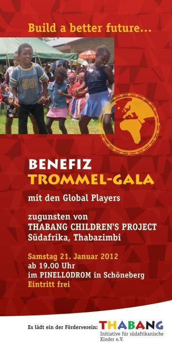 BENEFIZ TROMMEL-GALA - comm berlin