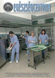 2004-12 Egészségcentrum.indd - Debreceni Egyetem Orvos- és ...