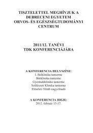 Letöltés - DE OEC Tudományos Diákköri Tanács - Debreceni ...